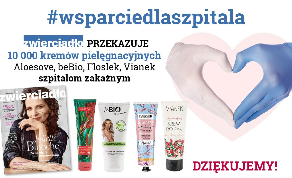 """""""Zwierciadło"""" wspiera walkę z koronawirusem"""