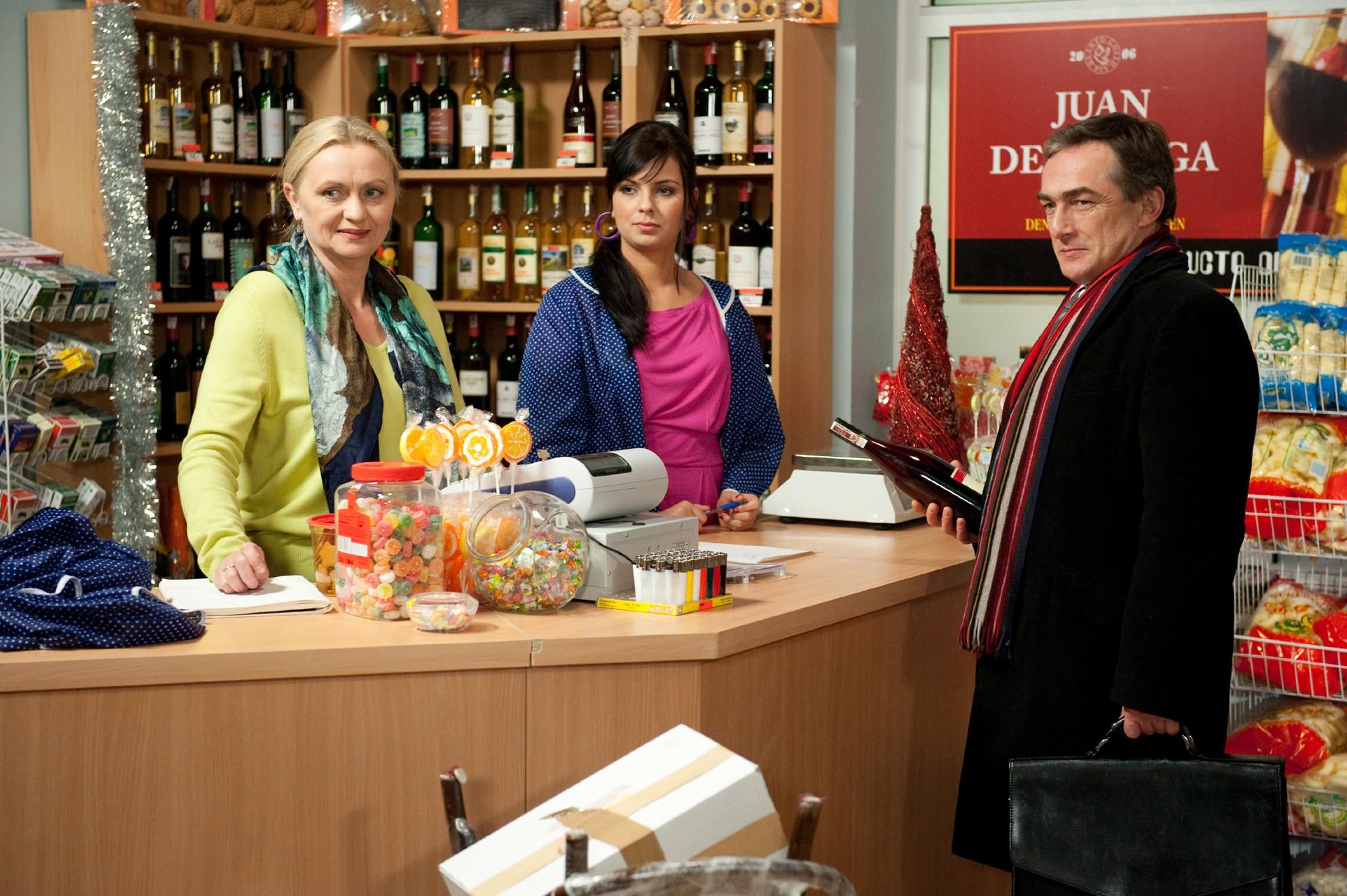 "Kadr z serialu ""Plebania"" / fot. East News"