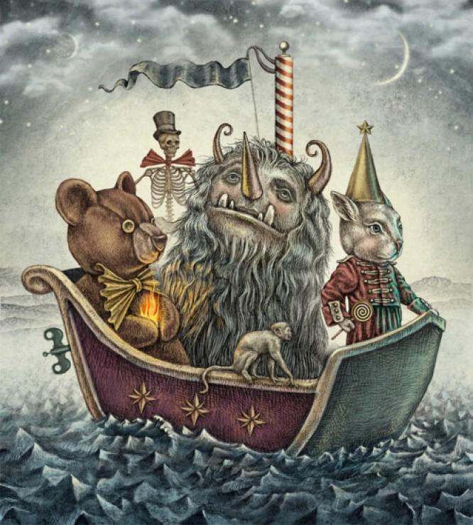 Niezwykłe ilustracje Juliana De Narvaeza
