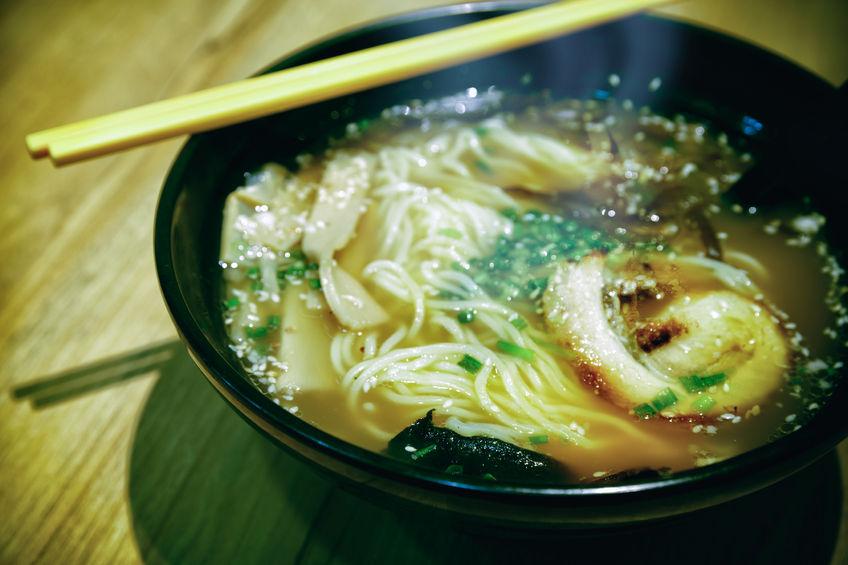 Zimowe zupy: ramen drobiowy