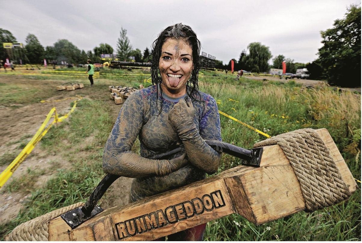 Patrycja, zanim zaczęła startować w runmageddonach, była szarą myszką (Fot. Igor Kohutnicki)