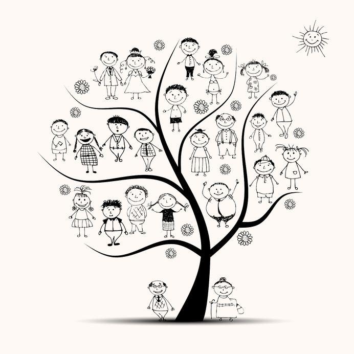 Zrób z dzieckiem drzewo genealogiczne