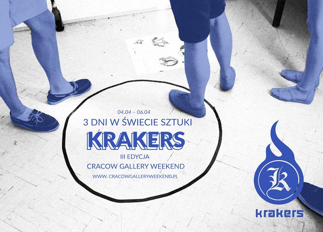 Krakers, czyli weekend galerii w Krakowie, 4 – 6 kwietnia