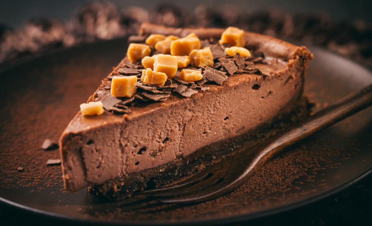 Sernik czekoladowo-cynamonowy na poprawę nastroju