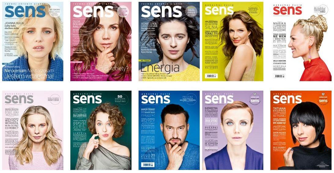 Rocznik 2014 magazynu Sens
