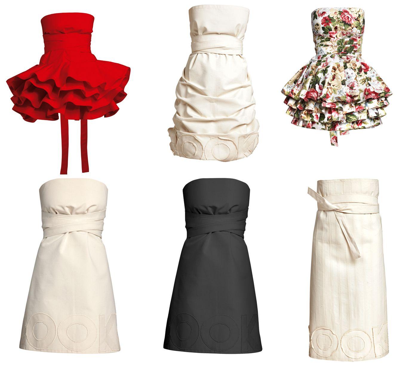 Fartuchy jak sukienki od COOKie