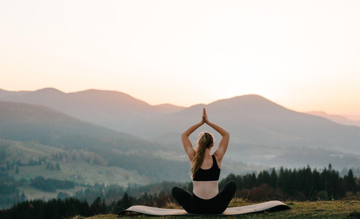 Wiosenna praktyka jogi