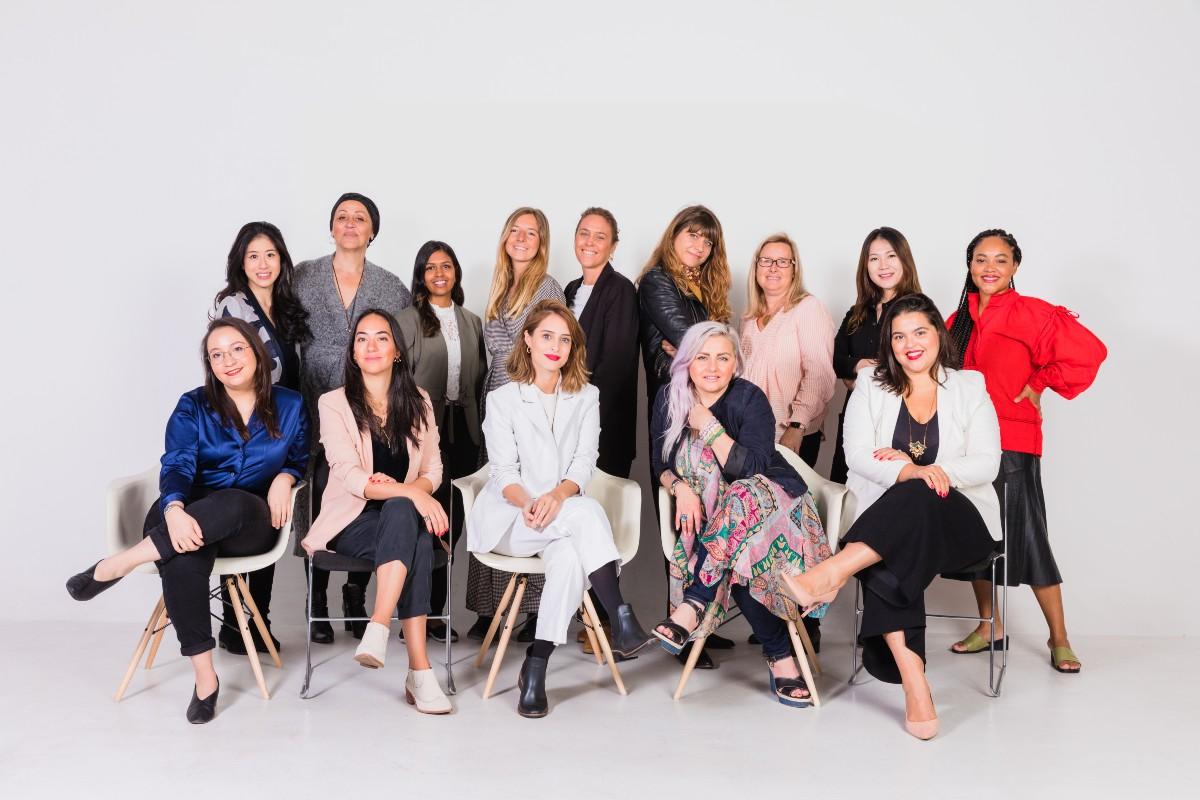 W akacji Sephora Accelerate uczestniczą startapy z Europy, Stanów Zjednoczonych, Ameryki Południowej i Azji. Na zdjęciu uczestnicy zeszłorocznej edycji. (Fot. Materiały prasowe)