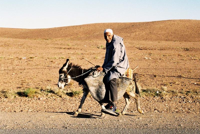Gdzieś na marokańskich bezdrożach ....