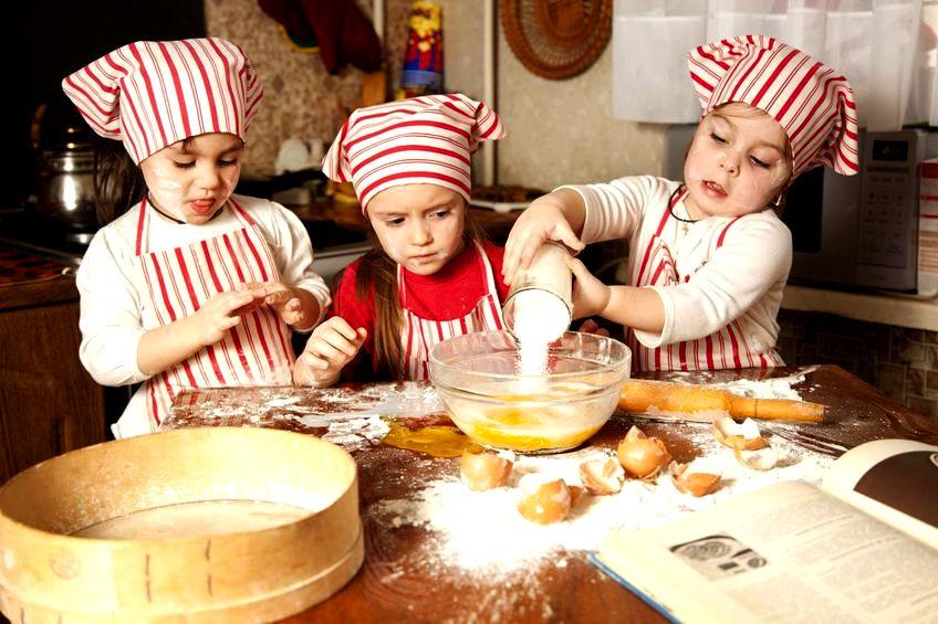 Zabawy Z Dziećmi W Gotowanie Zwierciadlopl