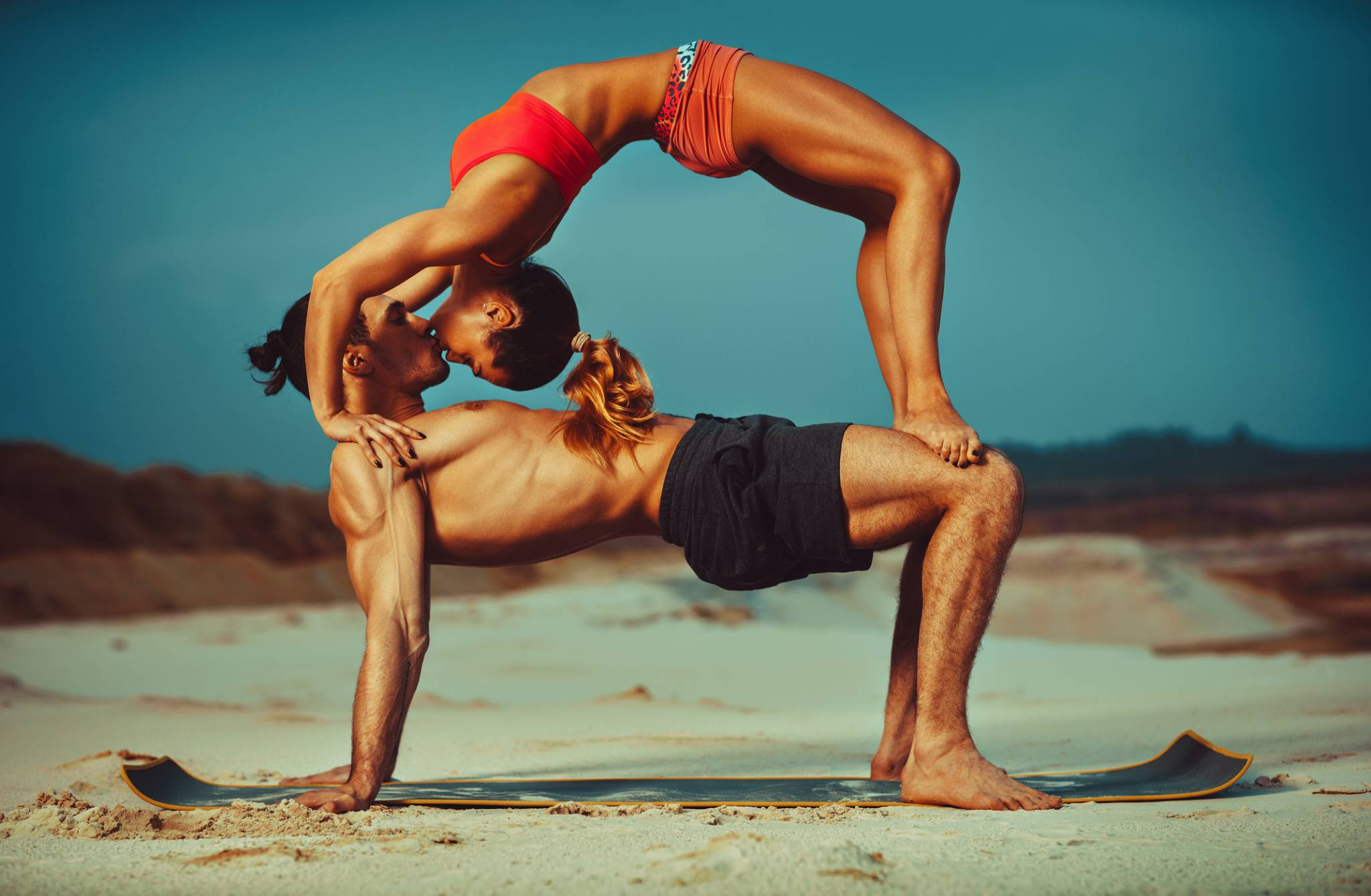 Mężczyzno! Proszę, zapisz się na jogę!
