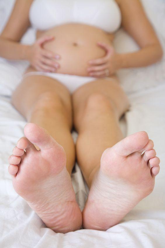Zdrowe nogi przyszłej mamy