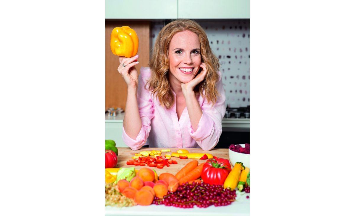 Katarzyna Błażejewska-Stuhr zachęca do eksperymentowania ze smakami różnych warzyw ( zdj. Wojciech Olszanka)
