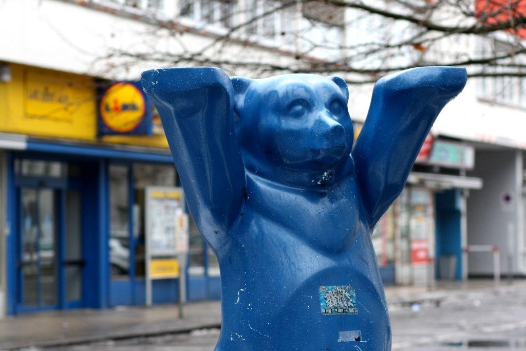 Poczciwy niedźwiadek to wszechobecny symbol miasta