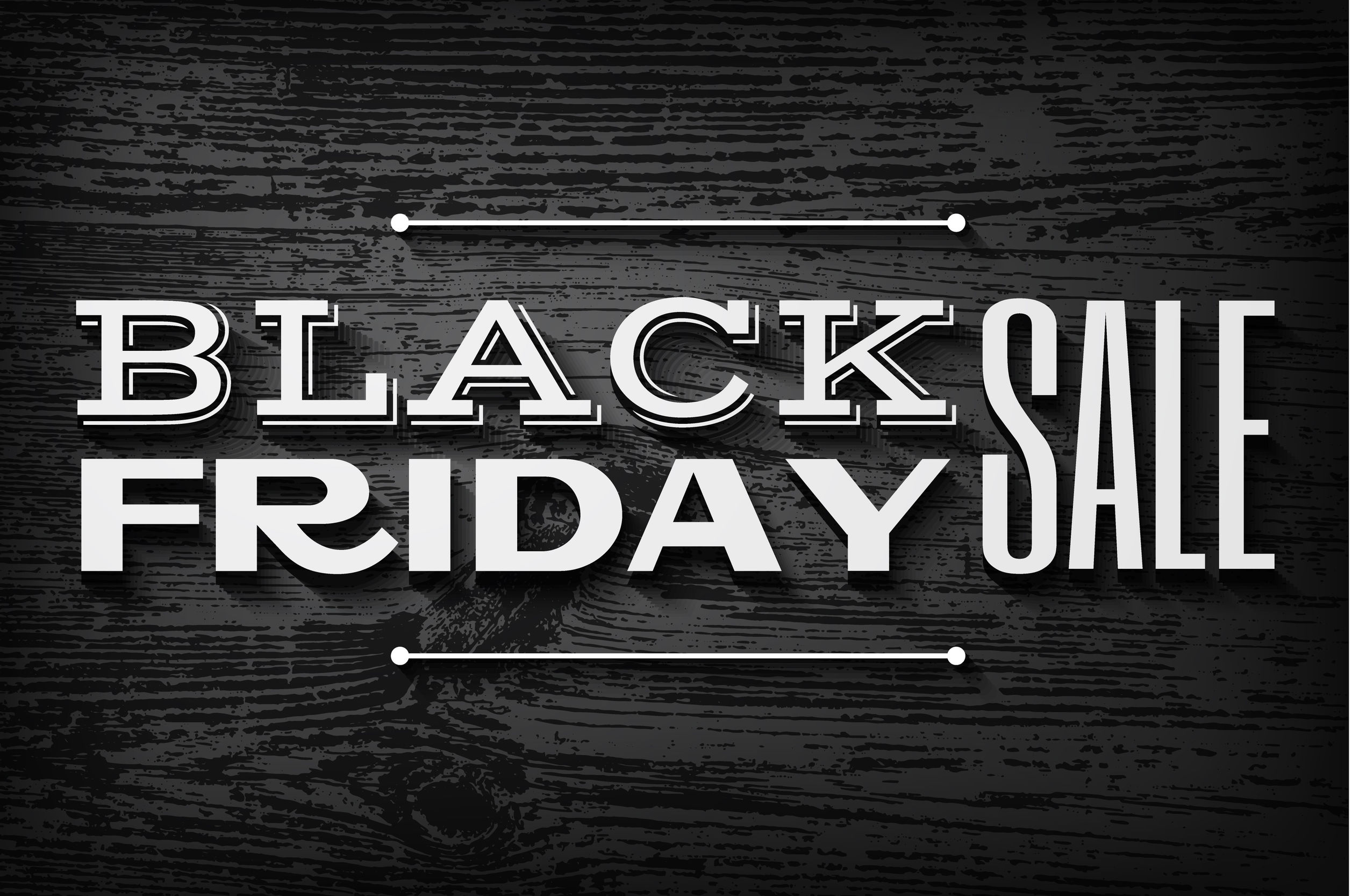 32637266 - black friday announcement on  vector wooden background