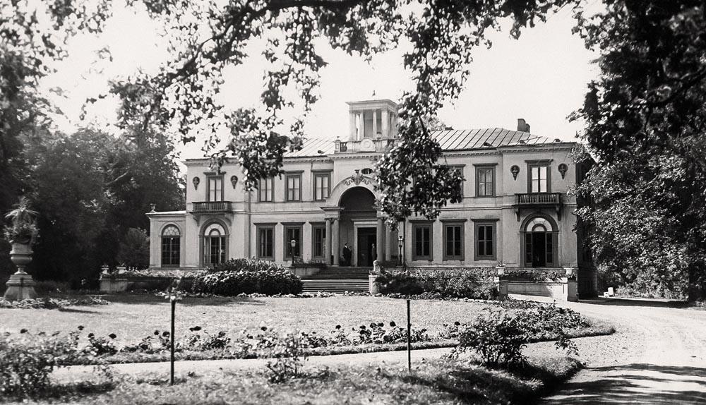 Fotografie starych polskich dworów