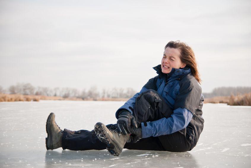 Do jakich urazów najczęściej dochodzi zimą?