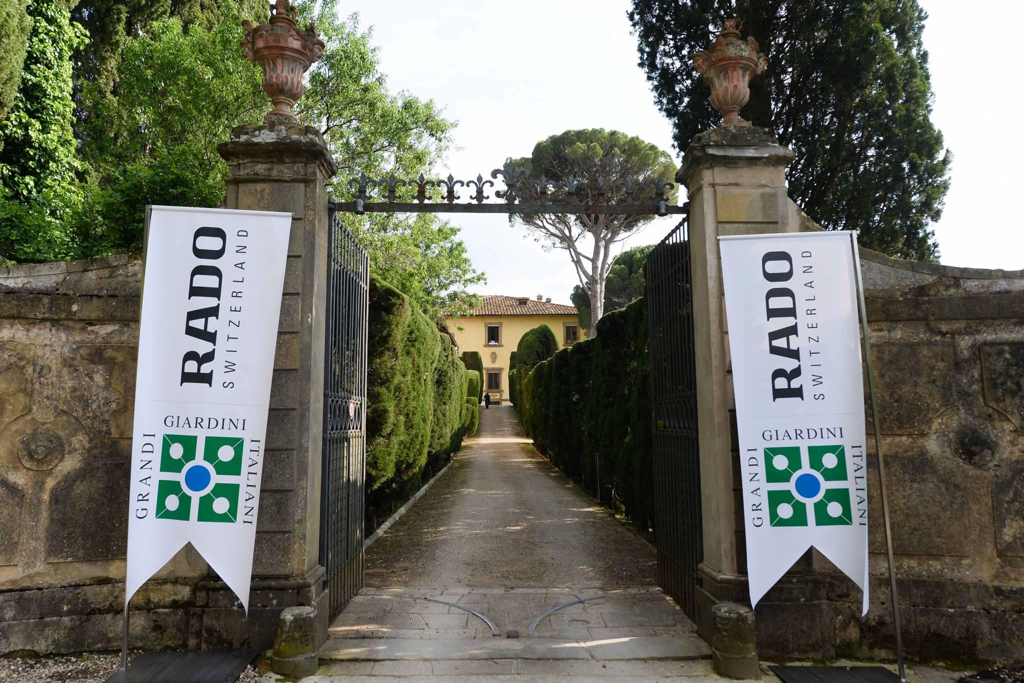 Rado świętuje partnerstwo z Grandi Giardini Italiani w świetnym stylu