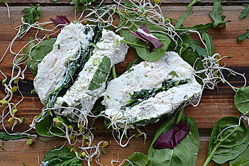 Serowa terrina z zieleniną