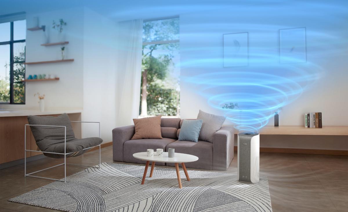 Oczyszczacz Philips Dual Scan AC3858/50 - niezrównana wydajność i czystość powietrza