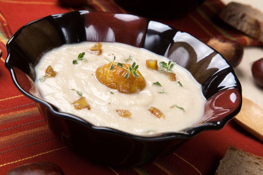 Wiosenna zupa krem z kalarepy