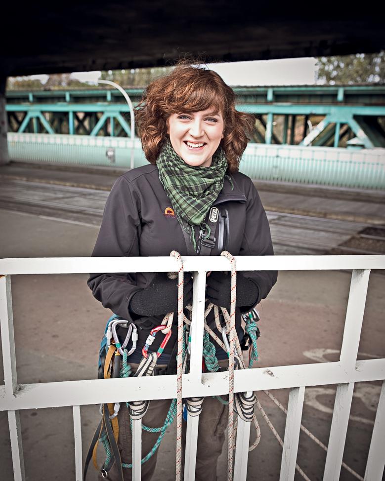 MARTA GRUNDLAND, aktywistka