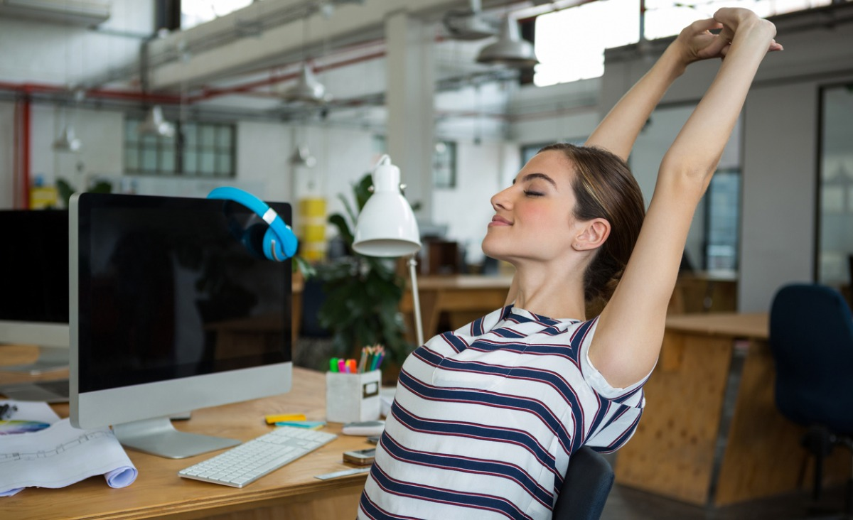 Jakie ćwiczenia możemy wykonywać... w pracy?