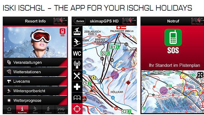 Aplikacja mobilna dla narciarzy