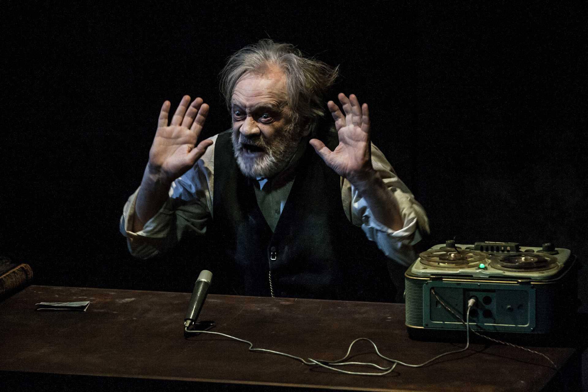 Seweryn gra Krappa w Teatrze Polskim