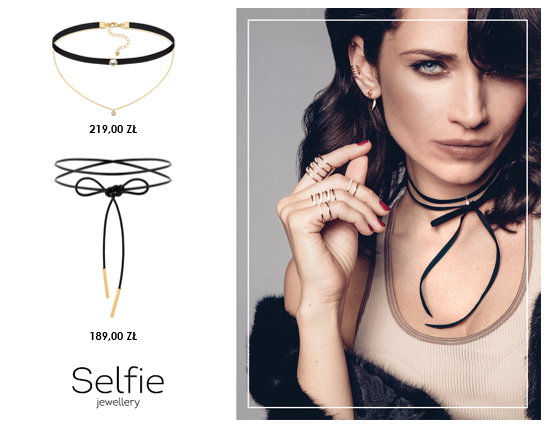 Let's celebrate… with SELFIE JEWELLERY!