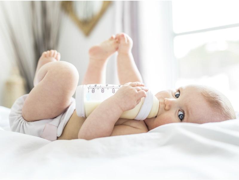 Jak uniknąć nadwagi u niemowląt?