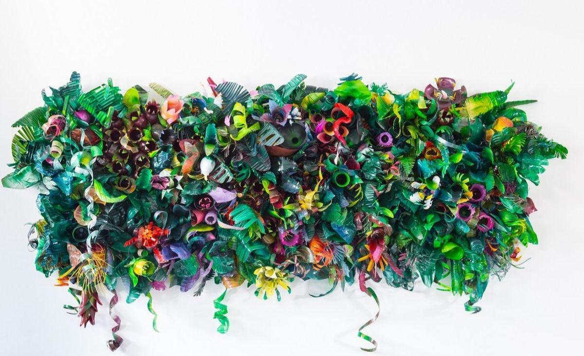 Projektem Re4Rest artystki chciały zwrócić uwagę na problem nadprodukcji plastikowych opakowań (Fot. materiały prasowe)
