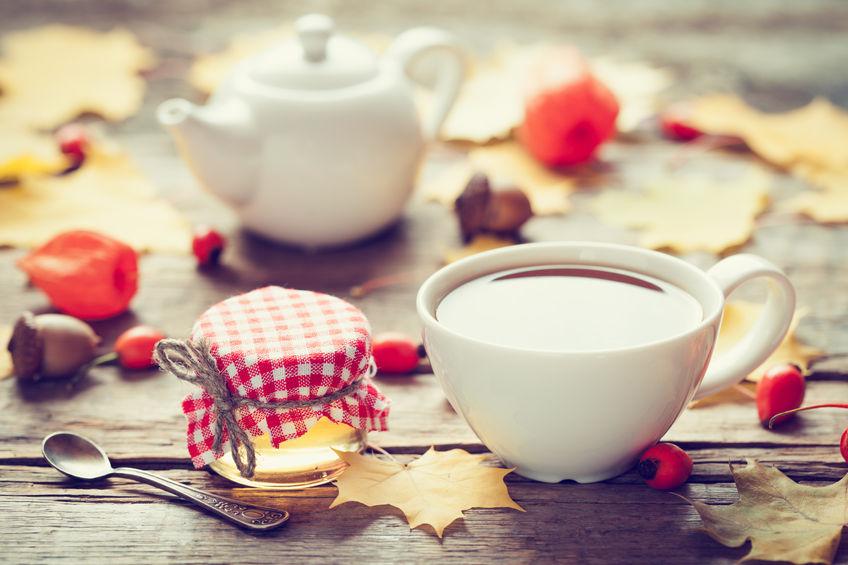 Jesienne koktajle herbaciane na odporność