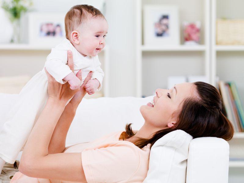 Jak ćwiczyć z niemowlakiem?