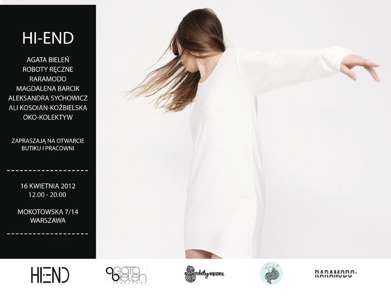 Hi- End Creative Collective - nowe modne miejsce w Warszawie
