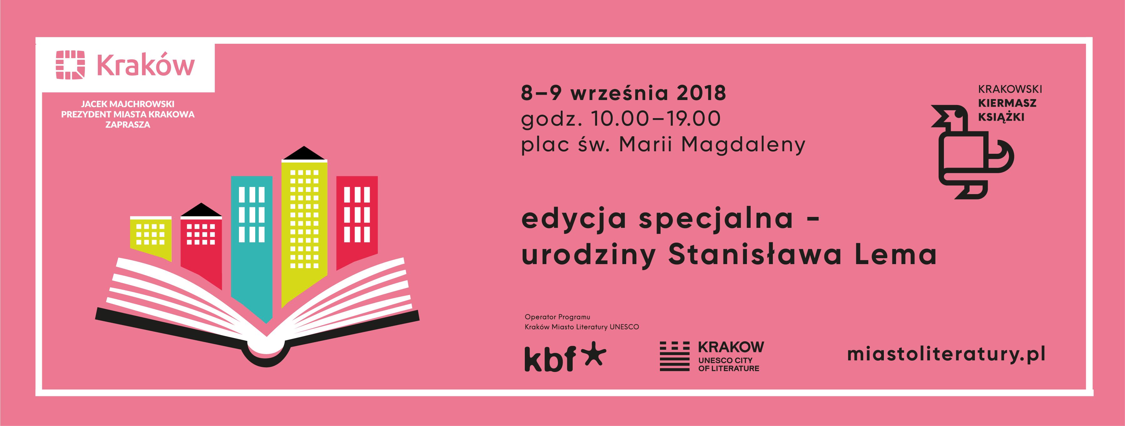 Krakowski Kiermasz Książki – Lem atakuje!