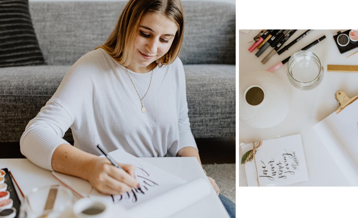 Brush lettering: sztuka pięknego pisania