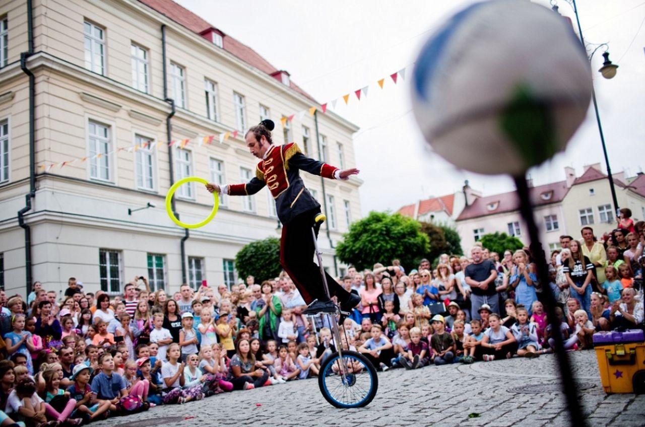 Oleśnicki Festiwal Cyrkowo Artystyczny(Fot. Piotr Spigiel)