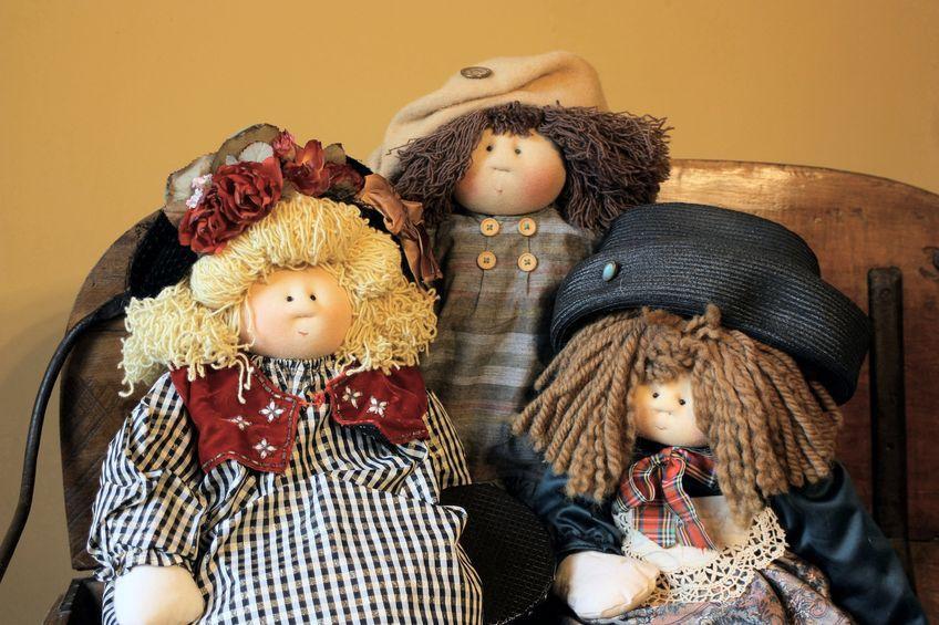 Zabawki handmade - całe ze szmatek