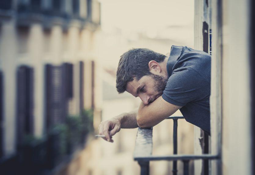 Mężczyźni w depresji