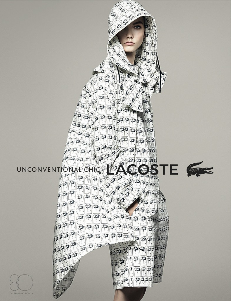 Kampania Lacoste na wiosnę-lato 2013
