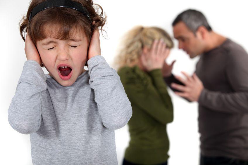 Konflikt w związku a dzieci