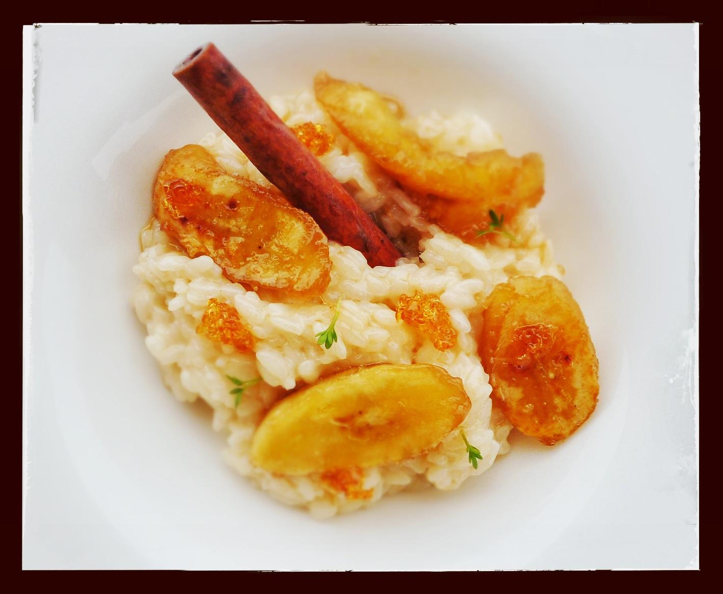 Bursztynowe risotto
