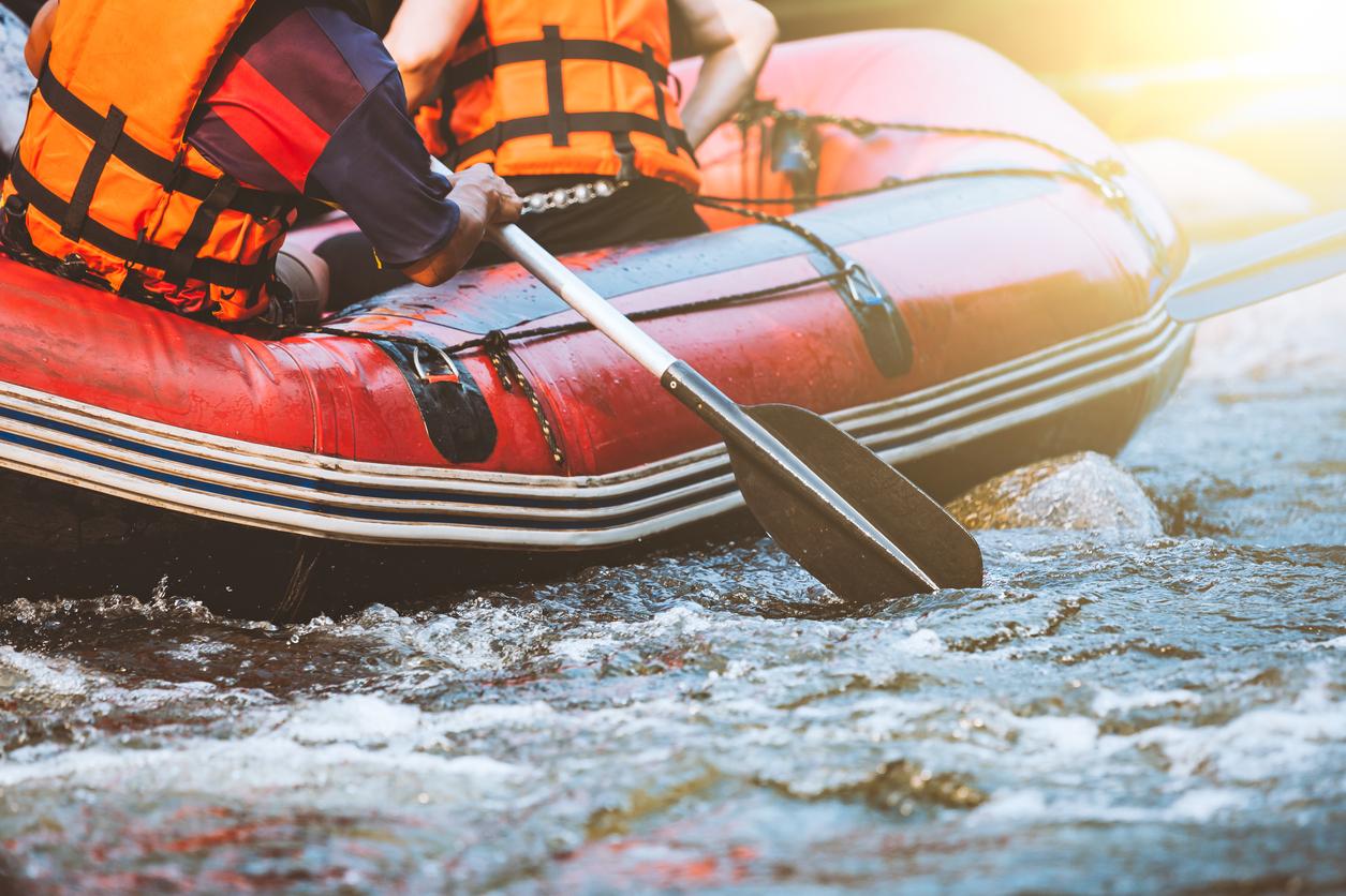 Dla kogo rafting?
