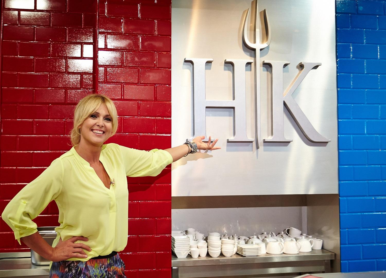 Ewa Wachowicz w Hells Kitchen