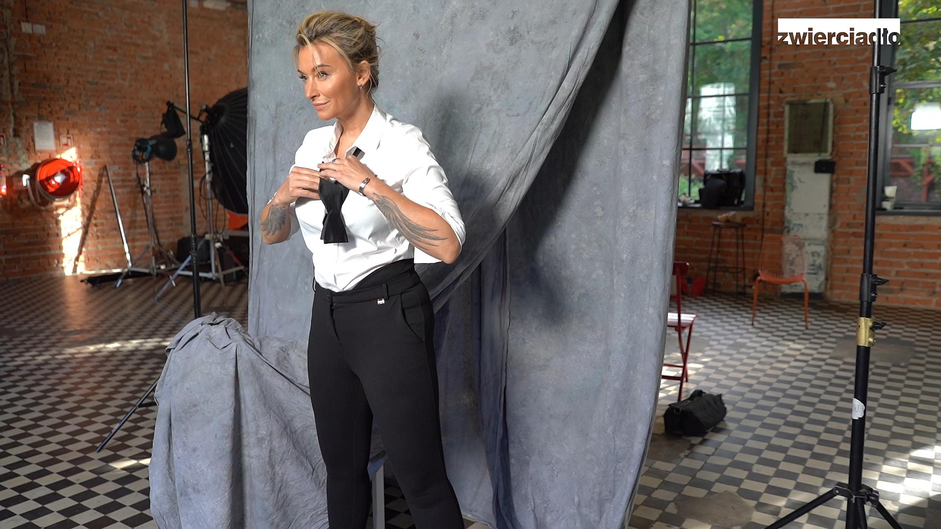 Martyna Wojciechowska na okładce grudniowego Zwierciadła