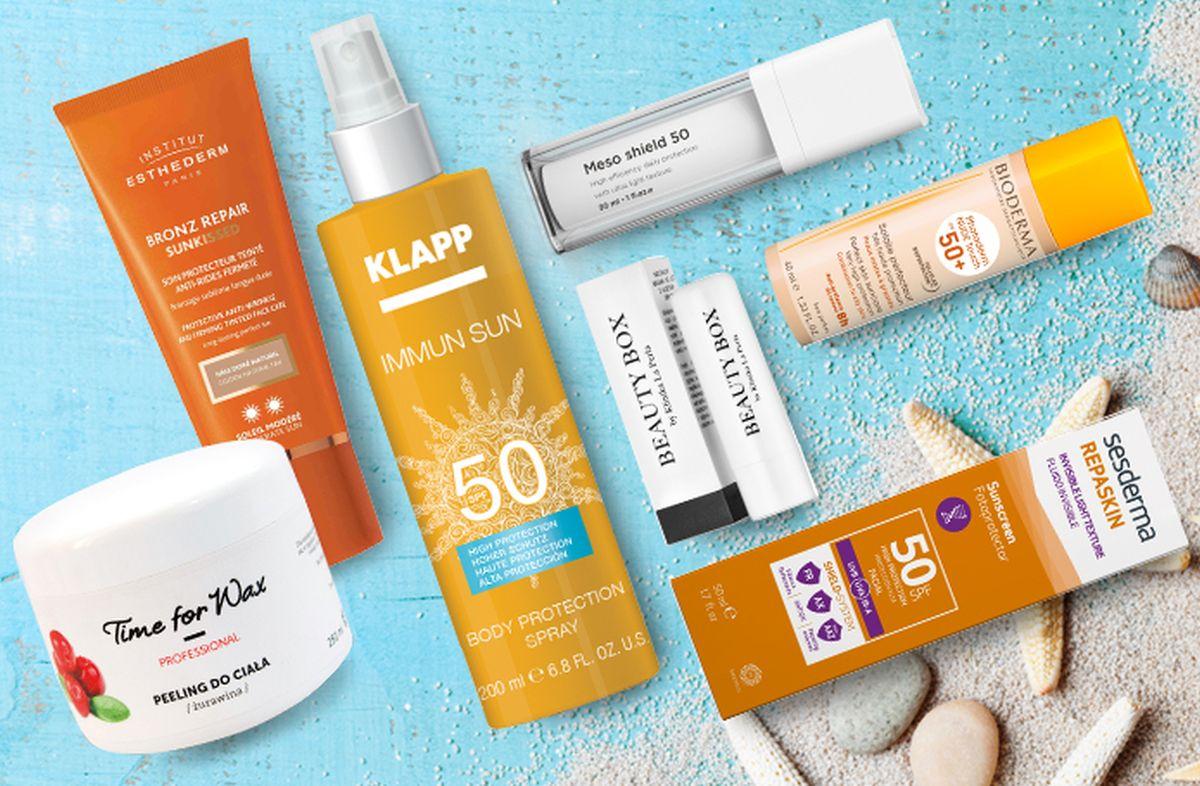 Kosmetyki niezbędne latem (Fot. materiały prasowe)
