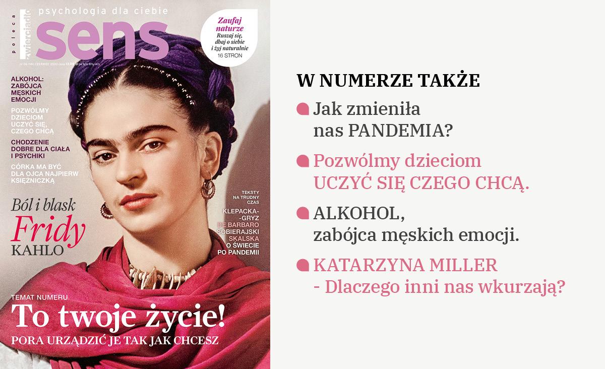 """Czerwcowe wydanie miesięcznika """"Sens"""""""