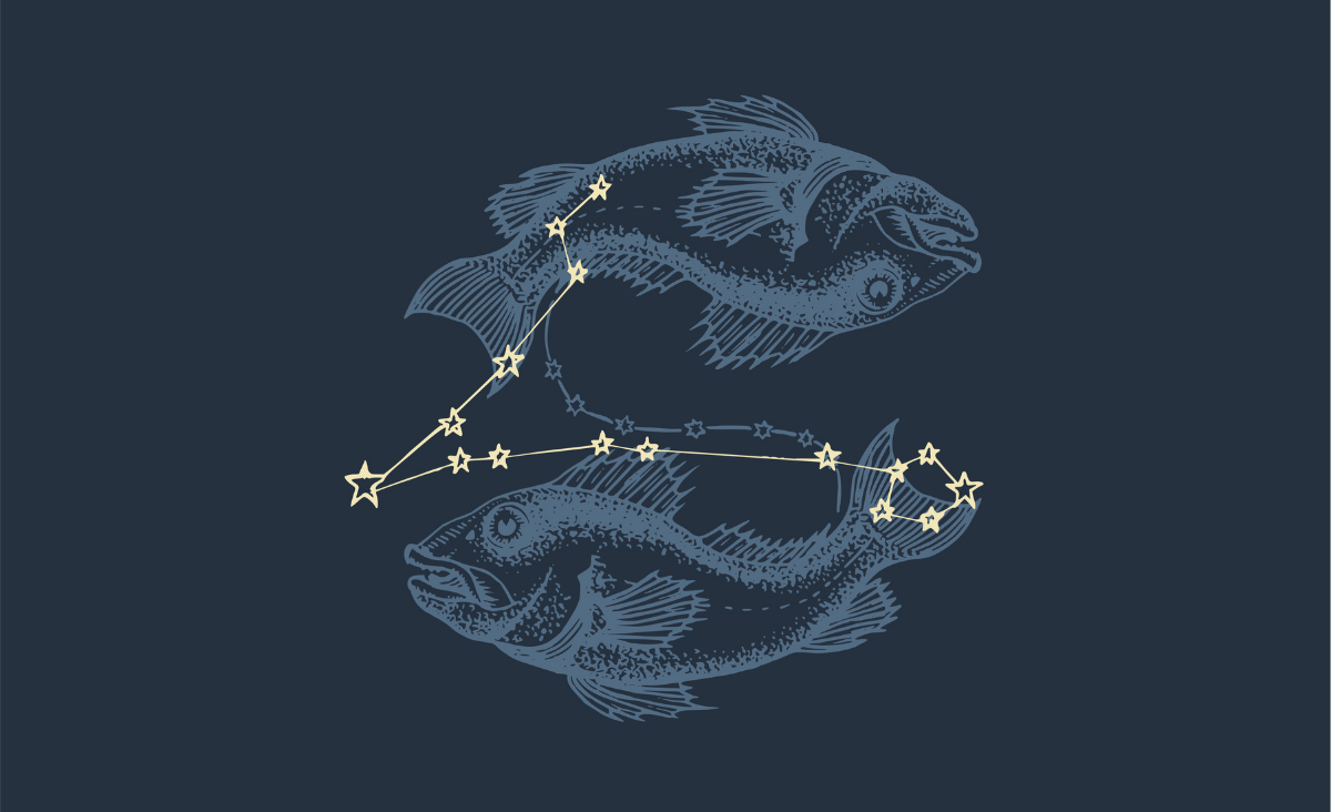 Zodiakalne Ryby - wolne jak ptaki