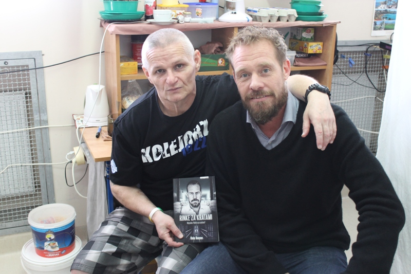 Rozmowy z więźniami Zakładu Karnego w Krzywańcu
